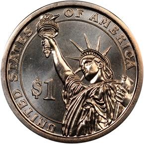 2015 P DWIGHT EISENHOWER $1 MS reverse