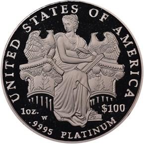 2006 W EAGLE P$100 PF reverse