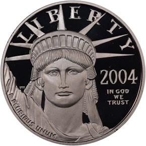 2004 W EAGLE P$50 PF obverse