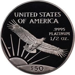 1997 W EAGLE P$50 PF reverse