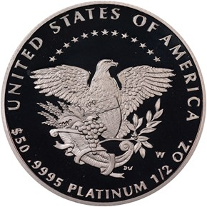 2005 W EAGLE P$50 PF reverse