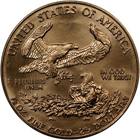1986 EAGLE G$25 MS reverse