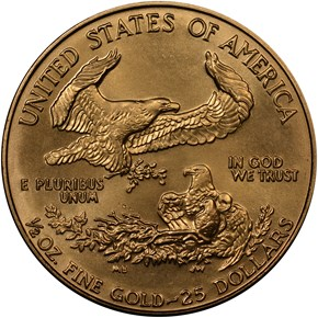 1989 EAGLE G$25 MS reverse