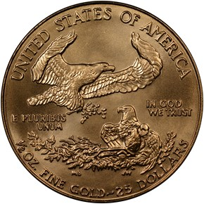 1987 EAGLE G$25 MS reverse