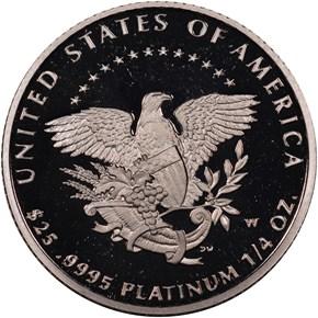 2005 W EAGLE P$25 PF reverse