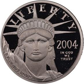 2004 W EAGLE P$25 PF obverse