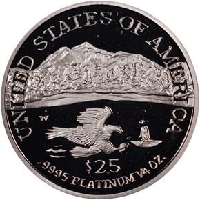 2002 W EAGLE P$25 PF reverse