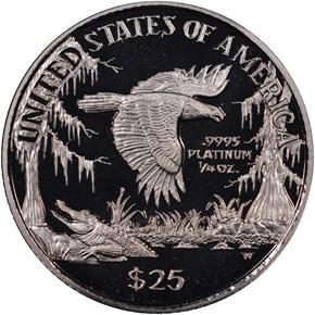 1999 W EAGLE P$25 PF reverse