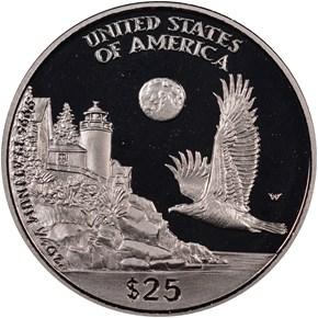 1998 W EAGLE P$25 PF reverse