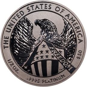 2007 W REVERSE PF EAGLE 10TH ANNIVERSARY P$50 PF reverse