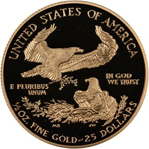2007 W EAGLE G$25 PF reverse