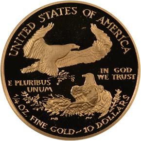 2008 W EAGLE G$10 PF reverse
