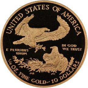 2012 W EAGLE G$10 PF reverse