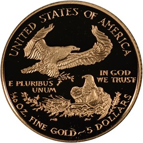 2008 W EAGLE G$5 PF reverse