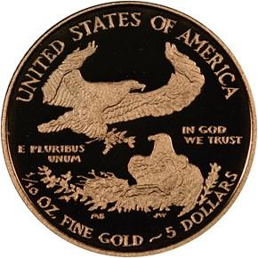 2011 W EAGLE G$5 PF reverse