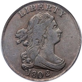 1802/0 REV OF 02 C-2 1/2C MS obverse