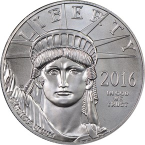 2016 EAGLE P$100 MS obverse