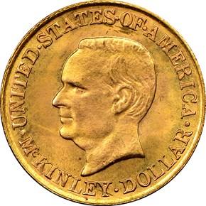 1916 MCKINLEY G$1 MS obverse