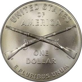 2012 W INFANTRY S$1 MS reverse