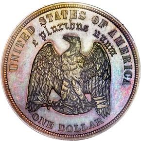 1878 J-1554b S$1 PF reverse
