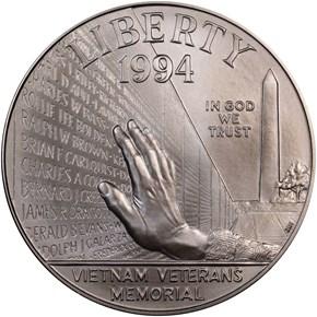 1994 W VIETNAM S$1 MS obverse