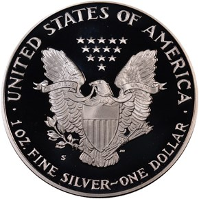 1992 S EAGLE S$1 PF reverse