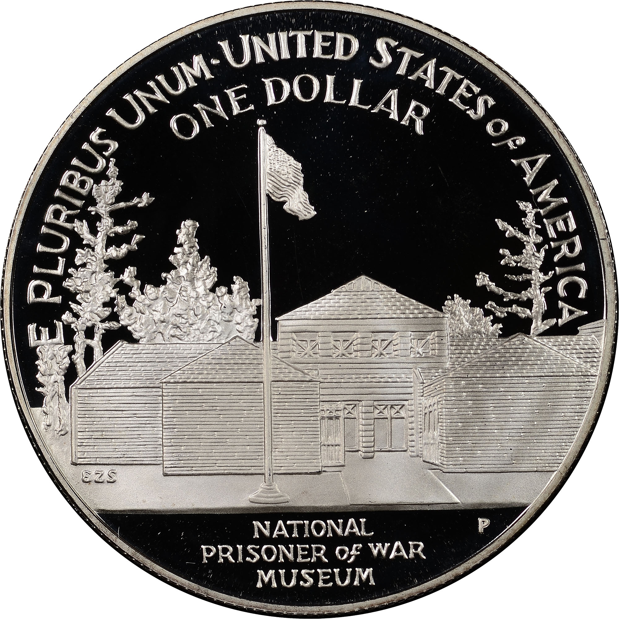PCGS PR69 DCAM 1994-P US Prisoner of War Commemorative Proof Silver Dollar