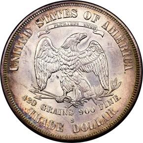 1874 S T$1 MS reverse