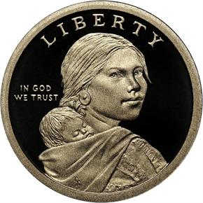 2013 S SACAGAWEA TREATY WITH $1 PF obverse