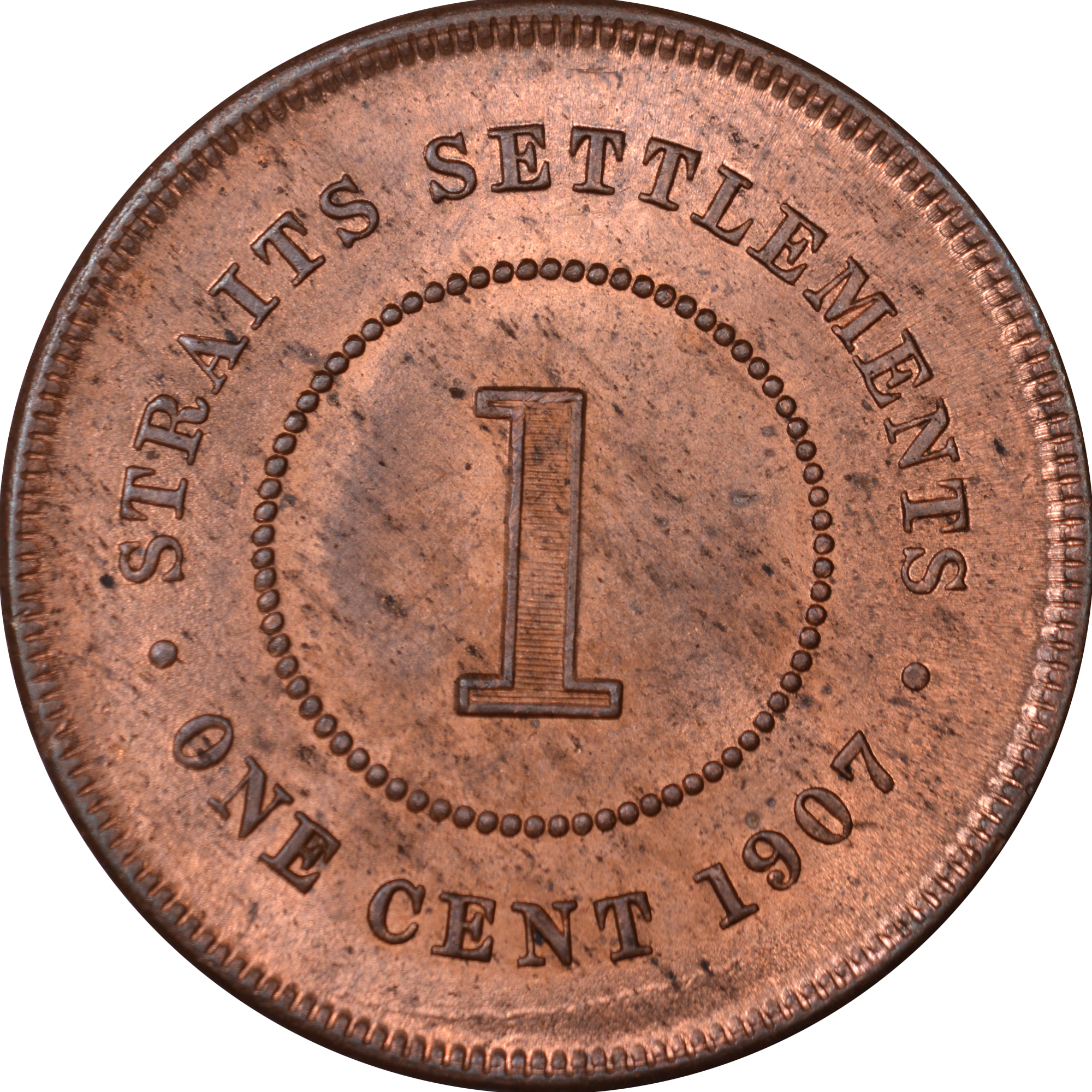 Straits Settlements Cent KM 19 Prices & Values | NGC