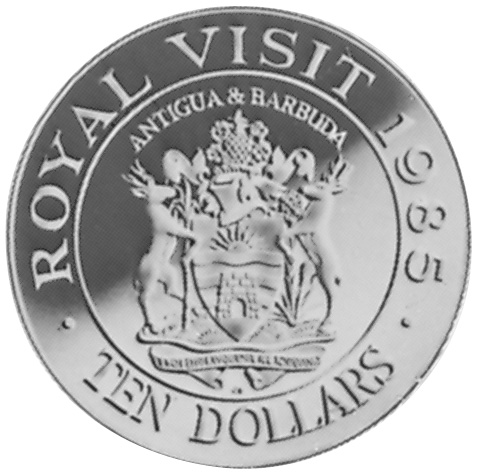 Antigua & Barbuda 10 Dollars reverse