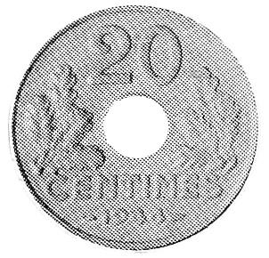 France 20 Centimes reverse