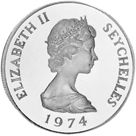 Seychelles 10 Rupees obverse