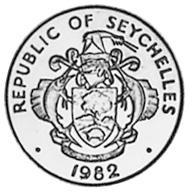 Seychelles Cent obverse
