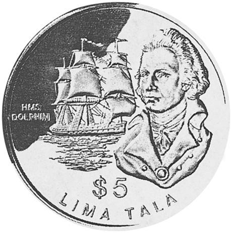 Tokelau 5 Tala reverse