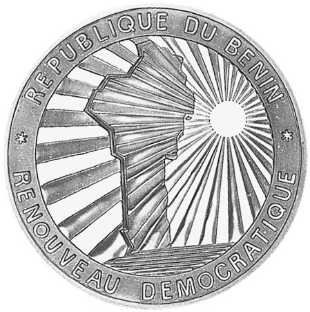 (1992) Benin 1000 Francs reverse