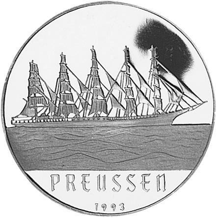 1993 Benin 1000 Francs reverse