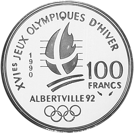 France 100 Francs reverse