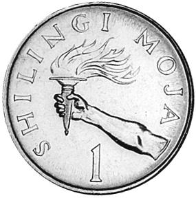 Tanzania Shilingi reverse