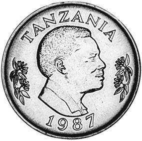 Tanzania Shilingi obverse