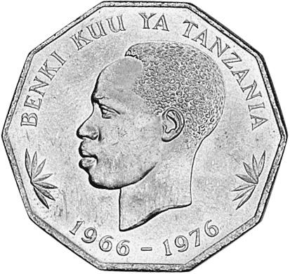 Tanzania 5 Shilingi obverse
