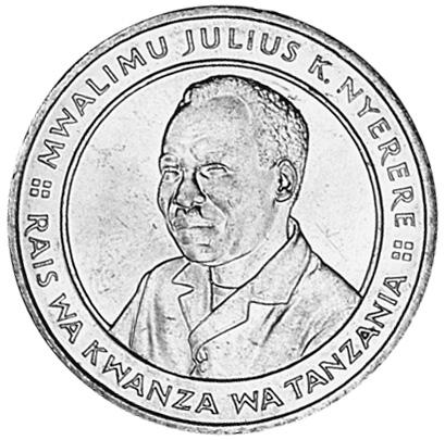 Tanzania 20 Shilingi obverse