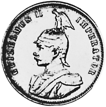 German East Africa Rupie obverse