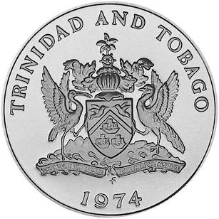 Trinidad & Tobago 50 Cents obverse