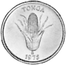 Tonga Seniti obverse