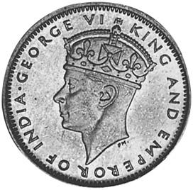 Mauritius 2 Cents obverse