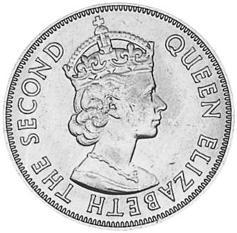Mauritius 5 Cents obverse
