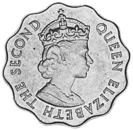Mauritius 10 Cents obverse
