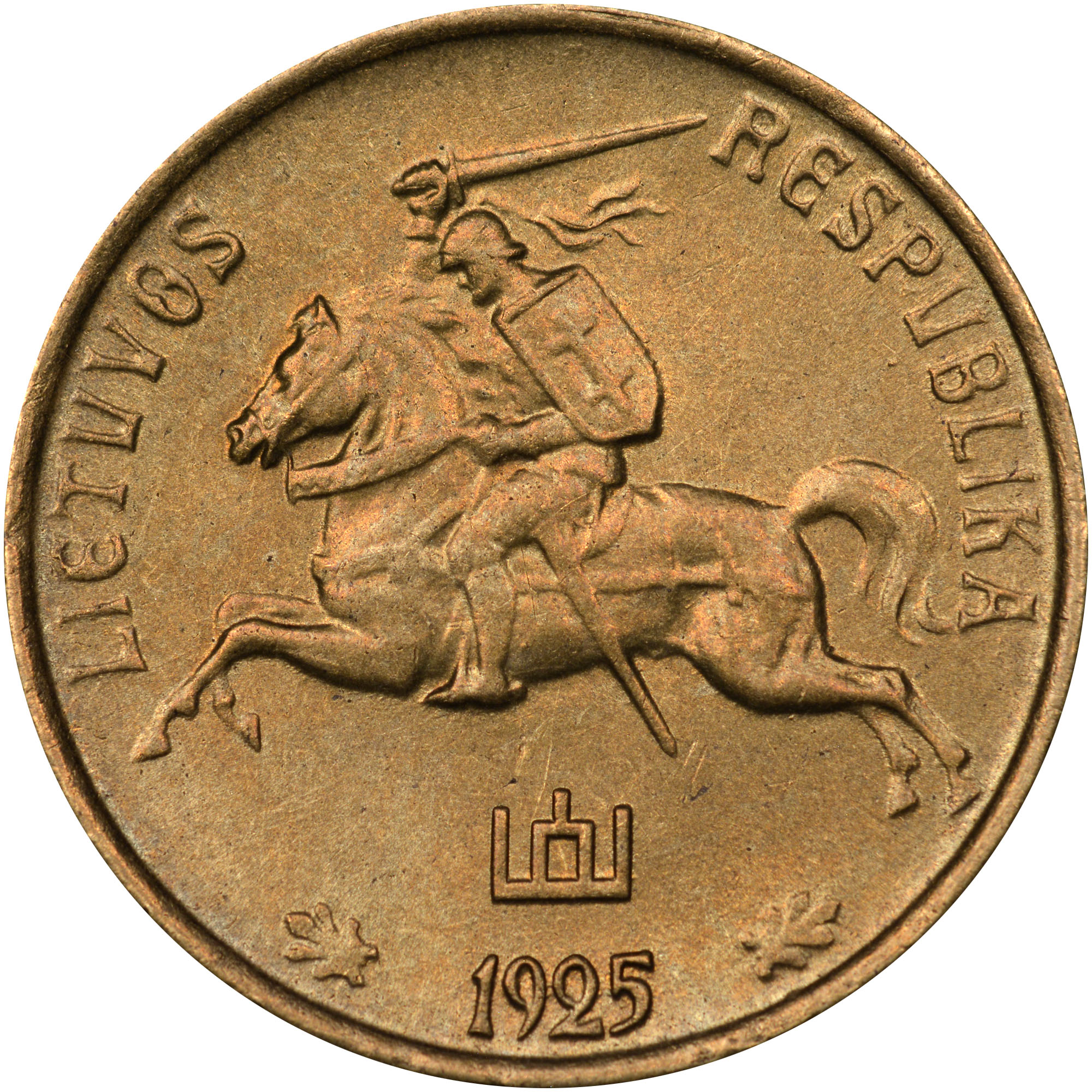 Lithuania Centas obverse