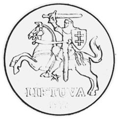 Lithuania 20 Centų obverse